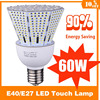 High power outdoor 60w new style led bulb light