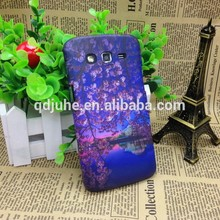 DIY blank mobile phone case for Samsung Galaxy Grand 2 case,with 3D sublimation effect printing
