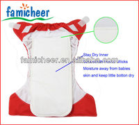 2016 Famicheer New All in one Reusable diapers