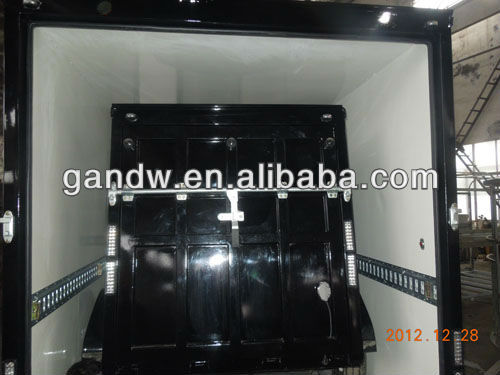 18x6x7 Enclosed Cargo Trailer square Shape Cargo Trailer