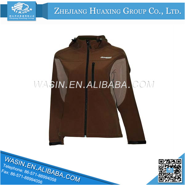 2014 Top Sale Brown Outer softshell garment