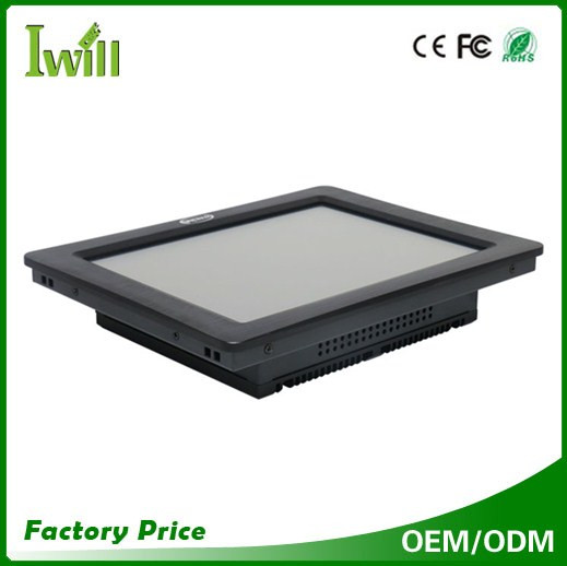 Linux all-in-one pc 10.4 inch wall mount touch screen mini pc