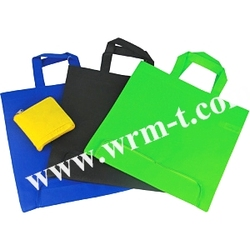 hot sale folding pp non woven bag, Non woven folder bag, personalized brand logo folderable recycle shopping tote bag
