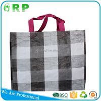 Professional supplier rip resistance pp woven shopping bag