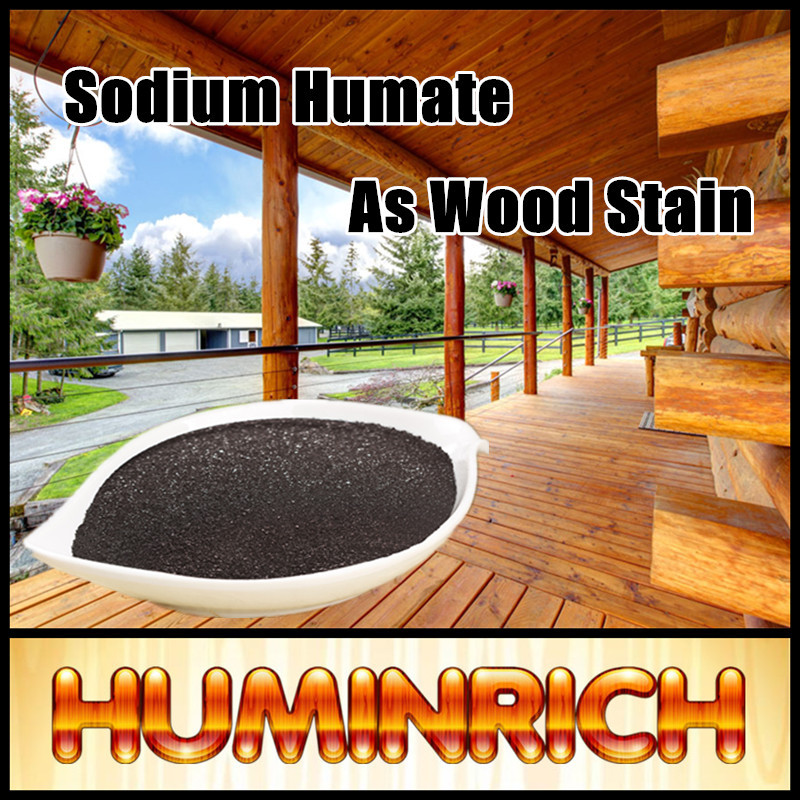 Huminrich Leonardite Source Sodium Humate Humic Acid Wood Walnut Stain