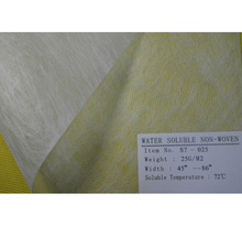 China manufacturer OEM dissolves water soluble nonwoven pva nonwoven fabric