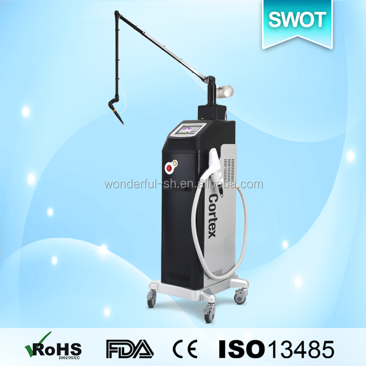 2016 hot medical CE fractional 2940nm erbium yag laser for peeling