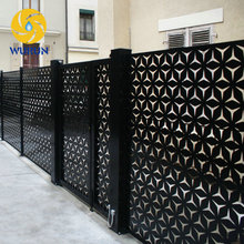 Indoor Decoration Laser Cutting Partition Used Wrought Iron Fence Panels