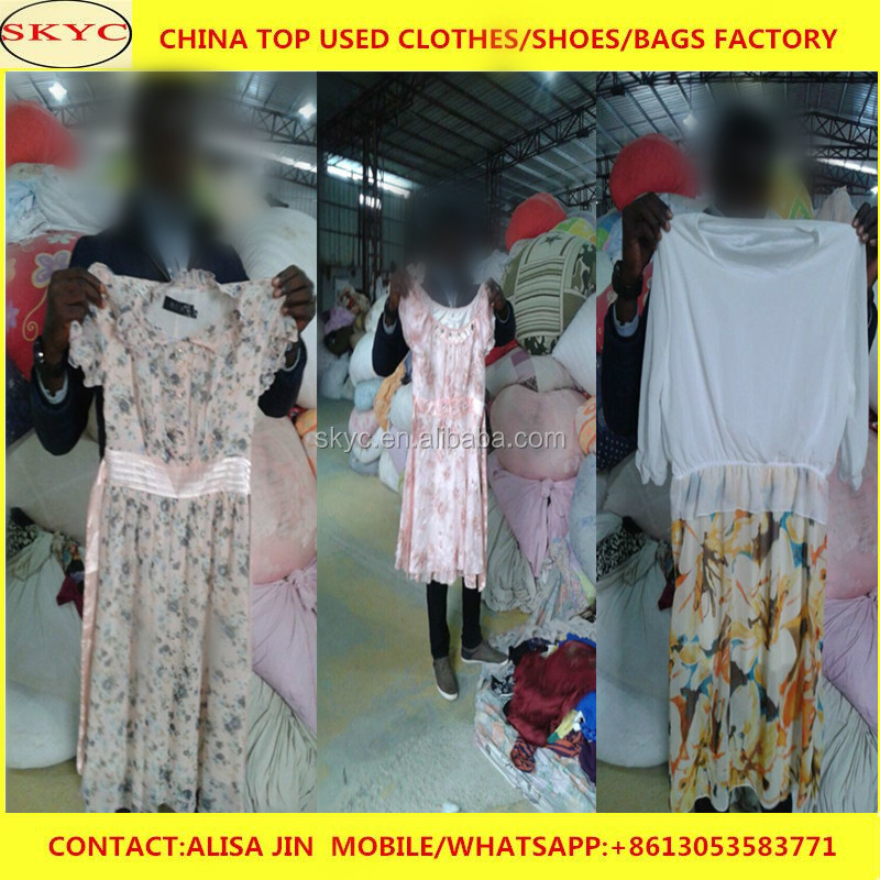 Guangzhou supply used clothing mixed used clothes in south africa