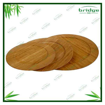 Tableware bamboo plate dishes
