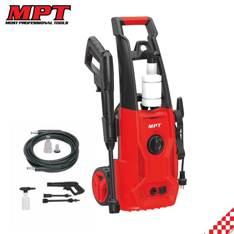 MPT 1400W 125Bar high pressure cleaner car washer
