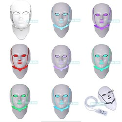 Brighter shopping Whitening Acne treatment 7 colors led mask with FDA