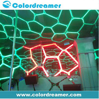 Amusement outdoor lighting dmx rgb smd 5050 led plant grow light strip