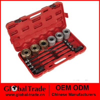 Univeral remove and install sleeve kit(26piece). Pull Sleeve Kit Remove Install Bushes Bearings Garage Tool.A0698