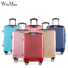 Winmax cheap luggag case trolley travelling abs luggage set