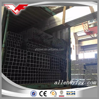 ASTM A500 Gr. A/B/C Manufactured Black Structural Square Steel Tube