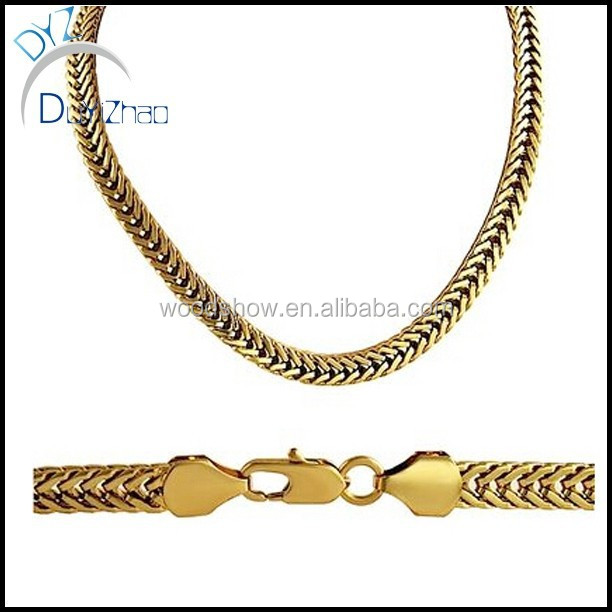 Hip Hop Gold Snake Chain