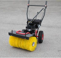 3-in-1 turf sweeper