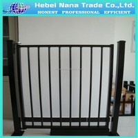 Iron Gate Grille Fence Design