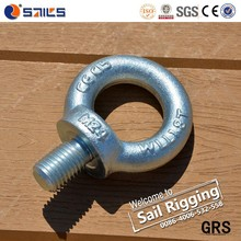 Rigging Hardware Heavy Duty C15 Small M3 M20 Din 580 Concrete Anchors Eye Bolts