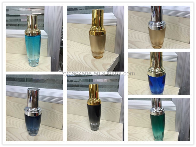 30ml 50ml 100ml 120ml Lancome black glass bottle eye dropper bottle eye cream bottle