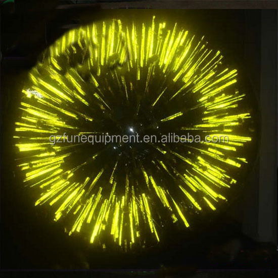 Top Quality Yellow Glow Ball PVC Or TPU Inflatable Glow Zorb Ball