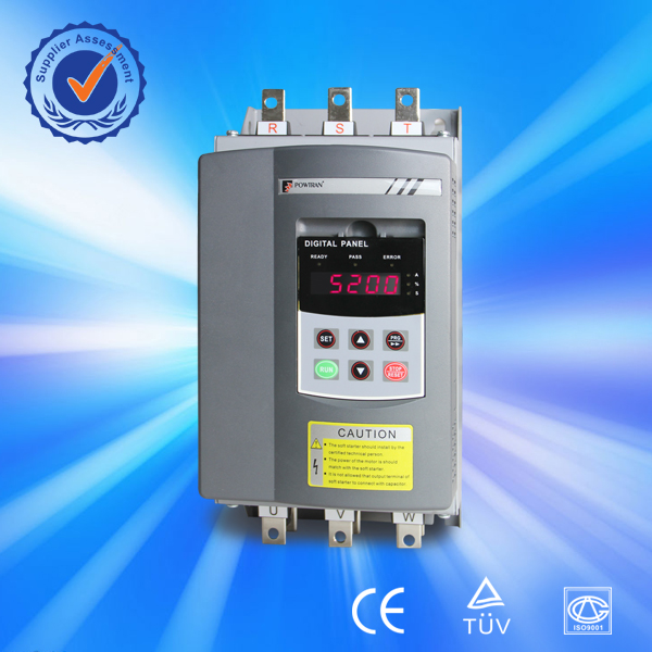 low voltage 22kw 55kw 75kw water pump / motor soft starter for soft start