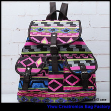 Youth backpack/cheap canvas backpack /knapsack schoolbag