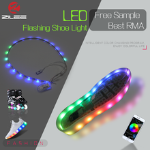 China Intelligent Led Multicolor light bar, built-in IC 5050 mini led light strip for shoes accessories