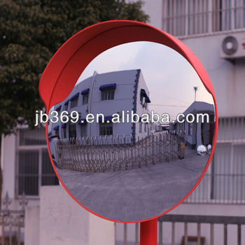 polycarbonate wide andgle convex mirror for traffic safety