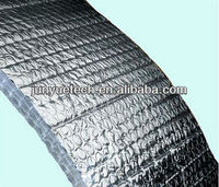 radiant reflective foil bubble material wrap