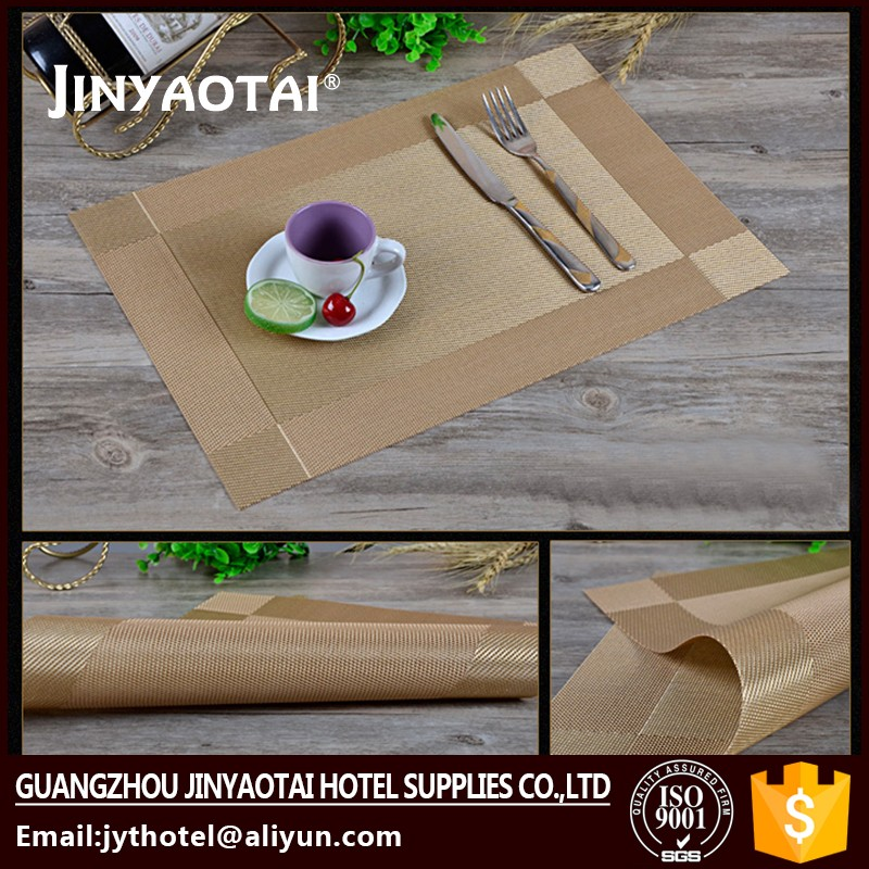 Guangzhou silicone water proof advertising insert placemat