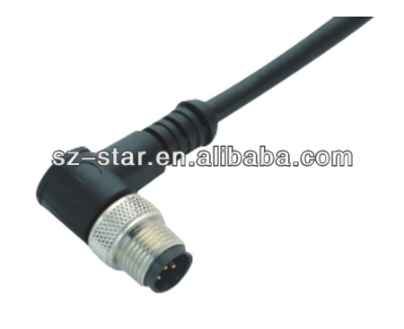M5 M8 M12 M9 M16 M23 IP67 waterproof 3p 4p 5p 8p 12p 16p 23p plastic Waterproof Cable Connector-STA