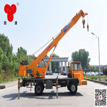 8Ton mobile truck mounted crane manufacturer with factory price, truck crane for sale