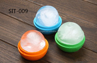 Hot sale food grade FDA and LFGB Big size silicone ice ball maker & ice cube tray