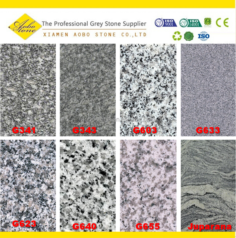 different kinds of gray granite suppliers