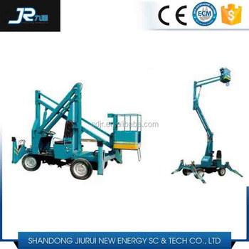 10m Hydraulic arm personnel lift