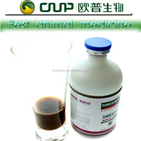 Traditional Chinese medicine oral liquid animal medicine to treat cold fever animal drug detoxification