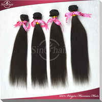 Cheap wholesale new arrival AAAAA vigin peruvian straight hair extension