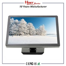High Quality 21.5 inch Touch Screen VGA Monitor With Capacitive,Resistive,Infrared Touch Optional