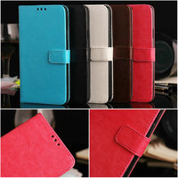 Wholesale high quality folio stand wallet style leather case for Samsung galaxy S5 i9600