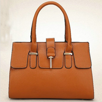 2015 newly fashion designer PU leather bag woman stylish handbags