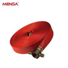 Durable Enough Canvas Fire Fighting Hose With Coupling