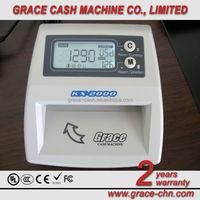 Multi-Currency Counterfeit Money Detector Machine