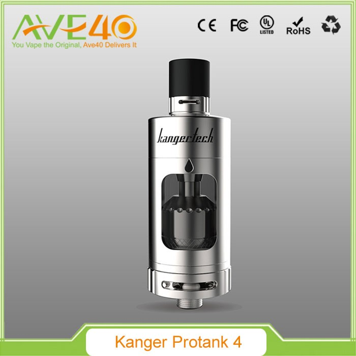 Best selling in USA electronic cigarette silver kangertech protank4 clearomizer
