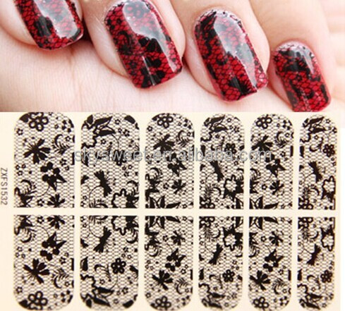 Supply Factory prices Water Transfer Printing Nail Sticker, Nail Foil Sticker