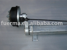 Torsion axle (1.8t with mechanical brake)
