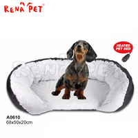 Cute and Warm Breathable Fabric Cave Dog Bed heated pet bed heated dog bed