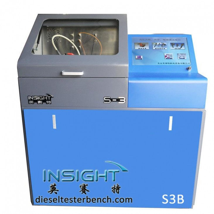 High quality Diesel fuel Injector test machine S3C support piezoelectric injector similar to CR3000 test bench