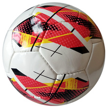High quality professional match training football with custom print logo